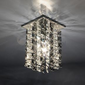 фото Точечный светильник 207 CH/SBK /CLEAR (хром/дымчатый/прозрачный)