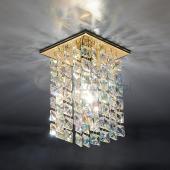 фото Точечный светильник 207 GD/Colorful (золото/перламутровый)