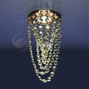 фото Точечный светильник 205V CRY (G/GD) золото/тонированный