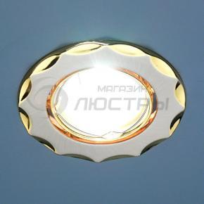 фото Точечный светильник KL734 SN/G (сатин-никель/золото)