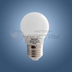 фото Лампа светодиодная LED MD G45 4W E27 6700К (шарик)
