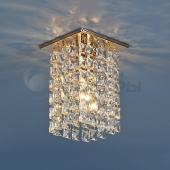 фото Точечный светильник с хрусталем 207 GD/CLEAR (золото/прозрачный) Strotskis