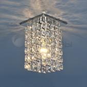 фото Точечный светильник с хрусталем 207 CH/Clear (хром/прозрачный) Strotskis