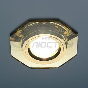 фото Точечный светильник 8120 YL/GD (зеркальный/золотой)