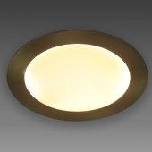 фото Светильник встраиваемый светодиодный Античная бронза 46-046-AB