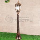 фото Светильник уличный столб Andromeda F черное золото