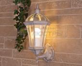 фото Светильник уличный Capella белое золото