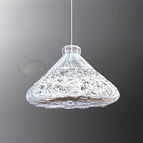 фото Подвесной светильник Н Ротанг 2-1660-1-WH E27