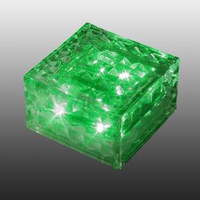 фото Светильник садовый светодиодный на солнечных батареях Novotech Tile 357242