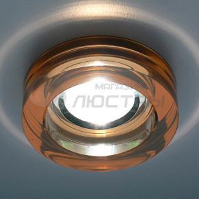 фото Точечный светильник 9160 коричневый/серебряный
