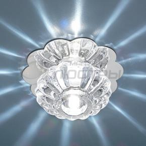фото Точечный светильник 847 WH хром/белый