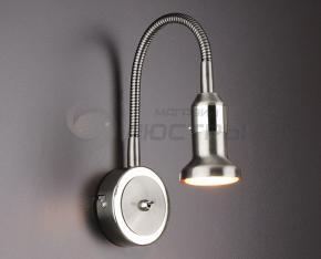 фото Подсветка для картин и зеркал Plica 1215 сатинированный никель / хром