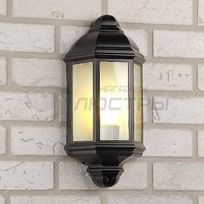фото Светильник уличный накладной 1804 черный
