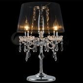 фото Настольная лампа 2045/3T хром/черный