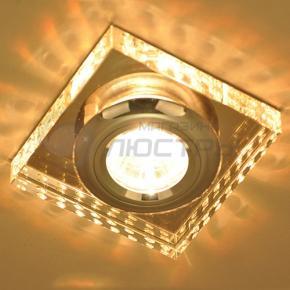 фото Точечный светильник 1058 Clear/SL(зеркальный/серебро)
