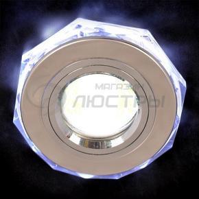 фото Точечный светильник 2020/2 SL/LED/WH (хром/белый)