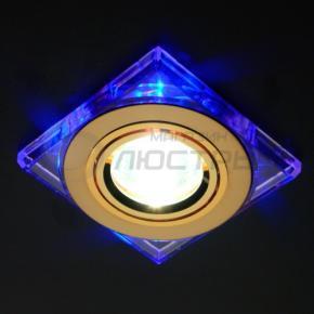 фото Точечный светильник 2080 GD/BL (золото/синий)