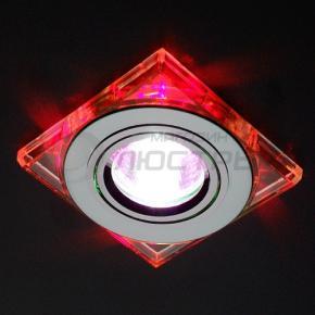 фото Точечный светильник 2080 CH/RD (хром/красный)