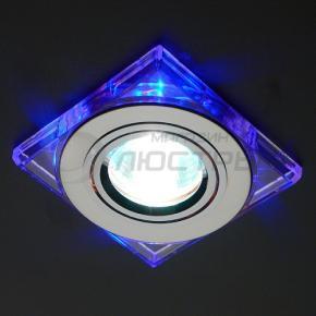 фото Точечный светильник 2080 CH/BL (хром/синий)