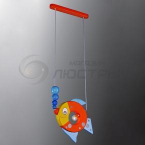 фото Подвесной светильник Н Детство 2-3355-1-Color E14