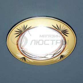 фото Точечный светильник 104А CF PG/N (перл.золото/никель)