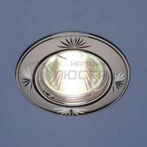 фото Точечный светильник 104А CF GU/CH (черный/серебро)