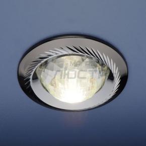 фото Точечный светильник 117A CX+50 GU/CH (черный/серебро)