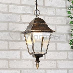 фото Светильник уличный подвесной NX9701 2H черное золото