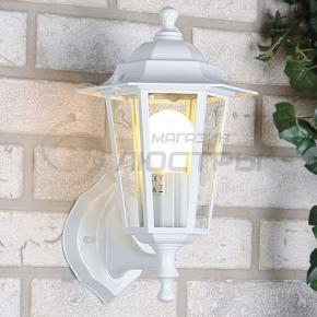 фото Светильник уличный настенный NX9701 3U белый