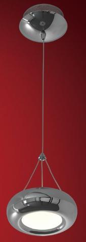 фото Подвесной светильник светодиодный Citilux Орбита Хром CL707111