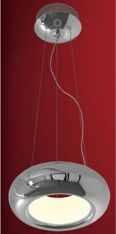фото Подвесной светильник светодиодный Citilux Орбита Хром CL707211