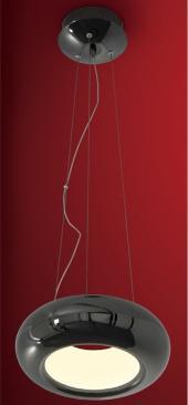 фото Подвесной светильник светодиодный Citilux Орбита Черный Хром CL707213