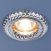 фото Точечный светильник 7001 MR16 WH/SL белый/серебро