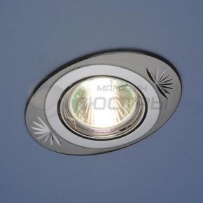 фото Точечный светильник 856A CF GU/CH (черный/серебро)