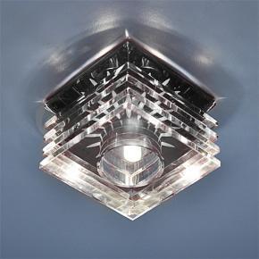 фото Точечный светильник 495 BK/WH (черный/прозрачный)