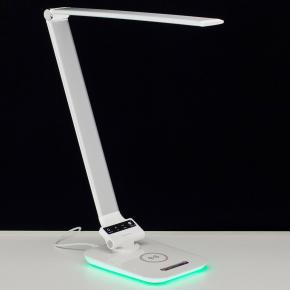 фото Настольный светильник светодиодный с RGB+USB+Qi Citilux Ньютон CL803011