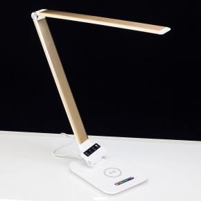 фото Настольный светильник светодиодный с RGB+USB+Qi Citilux Ньютон CL803012