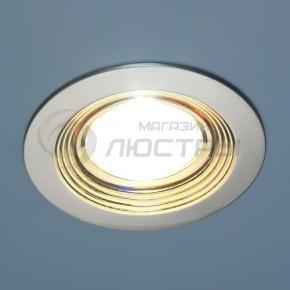 фото Точечный светильник 102A SN/G  (сатин-никель/золото)