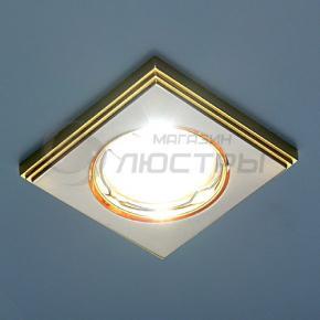 фото Точечный светильник 105A SN/G (сатин-никель/золото)