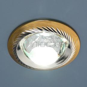 фото Точечный светильник 117A CX+50 SG/N (сатин-золото/никель)