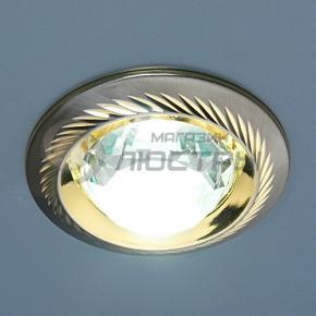 фото Точечный светильник 117A CX+50 SN/G (сатин-никель/золото)