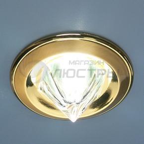 фото Точечный светильник 117A HE SG/G (сатин-золото/золото)