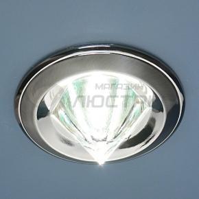 фото Точечный светильник 117A HE SN/N (сатин-никель/никель)