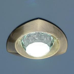 фото Точечный светильник 122A SB/WH (бронза/прозрачный)