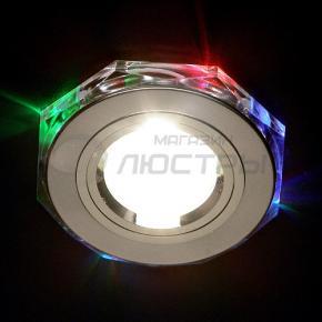 фото Точечный светильник 2020/2 SL/7-LED (хром/мультиподсветка)