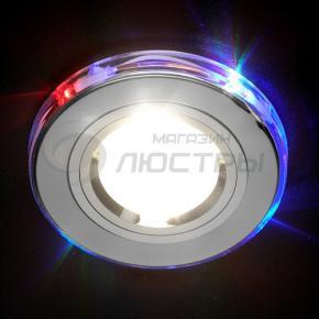 фото Точечный светильник 2060/2 SL/7-LED  (хром/мультиподсветка)
