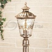 фото Светильник уличный столб Diadema F черное золото