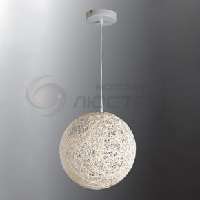 фото Подвесной светильник Н Ротанг 2-1031-1-WH E27