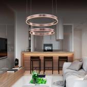 фото Люстра подвесная  Хай-Тек 2-5024-2-RC Y LED