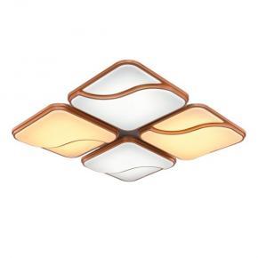 фото Потолочный светильник Хай-Тек 1-5027-WH+BR LED
